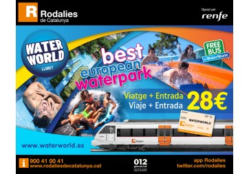 COMBINADO RENFE - WATER WORLD